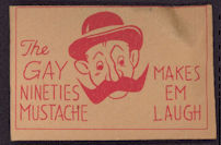 #TY568 - Gay Nineties Mustache Toy