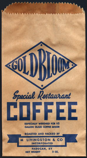 #MS295 - Group of 5 Goldbloom Coffee Bags