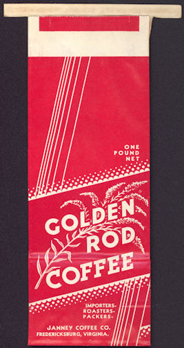 #CS330 - Unused Golden Rod Coffee Bag