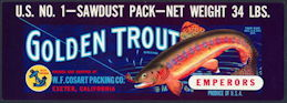 #ZLSG072 - Golden Trout Emperors Grape Crate Label