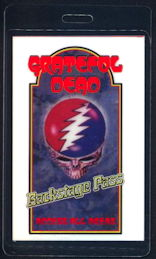##MUSICBP0155 - Grateful Dead 1997 Laminated Backstage Pass made for Documentary - As low as $3.50 each