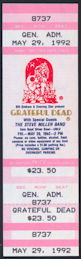 ##MUSICBP0297 - Grateful Dead/Steve Miller Ticket for the UNLV Silver Bowl Concert on May 29, 1992 - As low as $4 each
