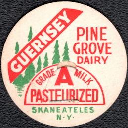 #DC203 - Pine Grove Dairy Guernsey Grade A Milk Bottle Cap