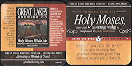 #SP076 - Holy Moses White Ale Coaster