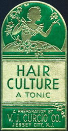 #ZBOT206 - Deco Design Hair Culture Tonic Label