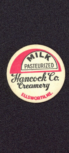 #DC118 - Hancock Co. Creamery Creamer Bottle Cap