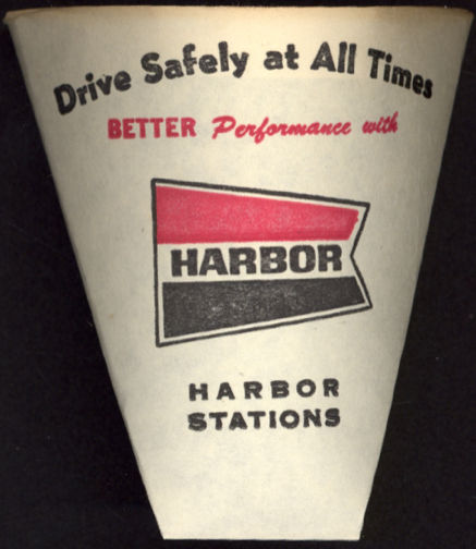#CA081 - Harbor Gas Station Paper Drinking Cup