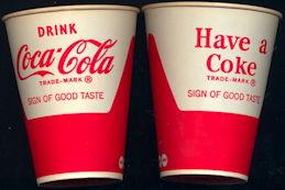 #CC010 - Vintage 1950s Coke Cup
