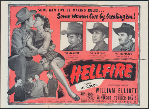 #CH326-27 - 1949 Hellfire Movie Pre-Screening Reservation Form - As low as 7.50 each
