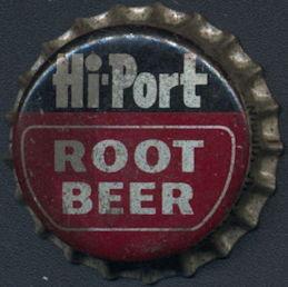 #BC181 - Rare Hi-Port Root Beer Cork Lined Soda Bottle Cap