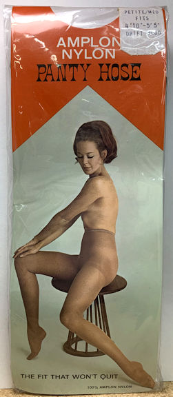 #PINUP061 - Full Package of Amplon Nylon Panty Hose - Sexy Graphics