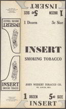 #TOP021 - Master Carton for Insert Tobacco Tins