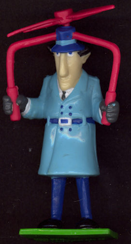 #CH333 - Uncommon 1992 Inspector Gadget Figure - As low as $1.00 each