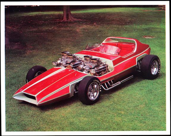 #MS302 - 1969 The Invader Show Car Print - Bob Reisner