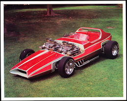 #MS302 - 1969 The Invader Show Car Print - Bob Reisner