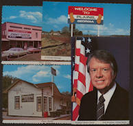 #PL312 - 10 Different Jimmy Carter Postcards