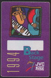 ##MUSICBP0133 - 1994 JVC Jazz Festival Backstage Pass - B. B. King - As low as $1.50 each