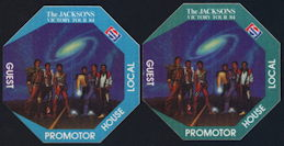 ##MUSICBP0110 - Jacksons (Michael Jackson) Backstage OTTO Cloth Pass from the 1984 Victory Tour - As low as $5