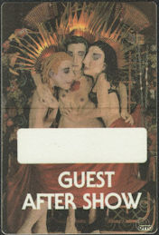 ##MUSICBP0780  - Rare Jane's Addiction OTTO Cloth Backstage Pass from the 1991 Ritual de lo Habitual Tour