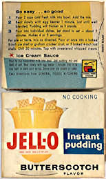 #CS420- Full Unopened Box of Jell-O Butterscotch Instant Pudding