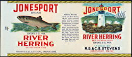 #ZLCA250 - Jonesport River Herring Can Label