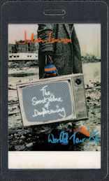 "##MUSICBP0625 - 1986 Julian Lennon OTTO Laminate Backstage Pass from The ""Secret Value of Dreaming"" Tour"