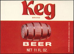 #ZLBE029 - Keg Beer Label