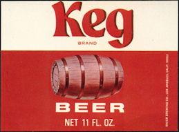 #ZLBE029 - Keg Beer Label