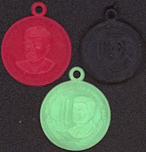 #PL301 - 2 Different JFK (John F. Kennedy) Commemorative Charms