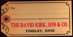#CS270 - David Kirk Wholesale Grocer Shipping Tag
