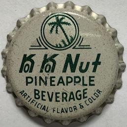 #BC233 - Rare Ko Ko Nut Pineapple Soda Bottle Cap