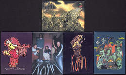 ##MUSICBG0055 - Group of 5 Different Korn Refrigerator Magnets