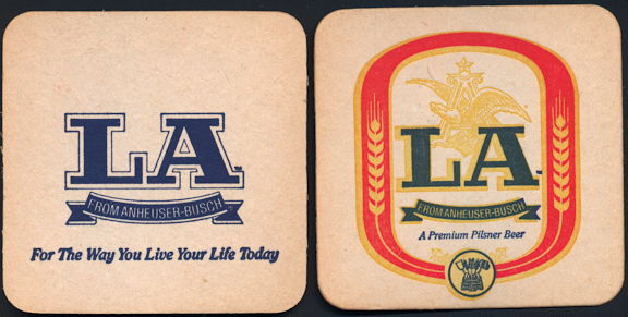 #SP075 - LA Beer Coaster