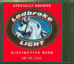 #ZLBE108 - Ladbroke Beer Bottle Label