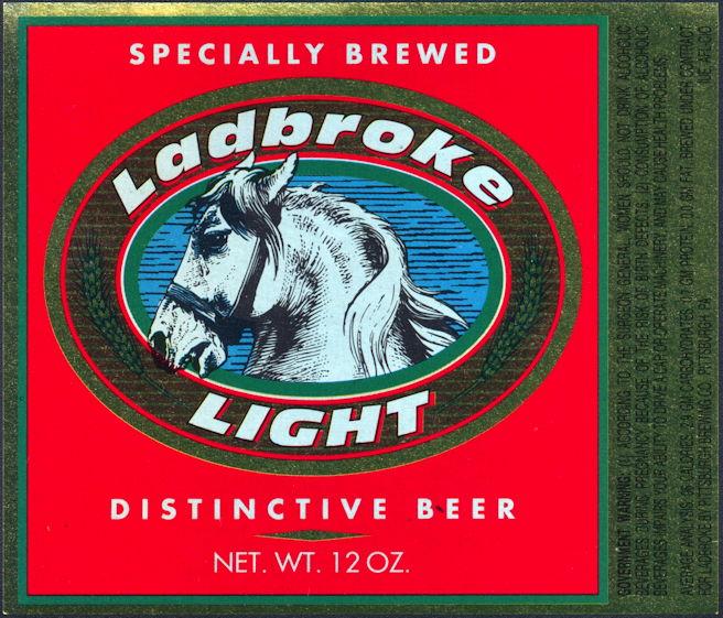 #ZLBE108 - Ladbroke Beer Bottle Label