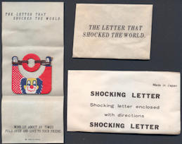 #TY642 - Shocking Letter Gag - Made in Japan - As low as $1 each