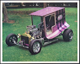 #MS283 - 1960s The Milk Truck Car Print - Bob Reisner
