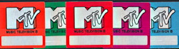 ##MUSICBP0136 - Group of 5 different MTV OTTO backstage passes