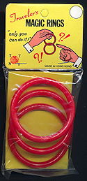 #TY784 - Traveler's Magic Rings Trick - As low as $1 each