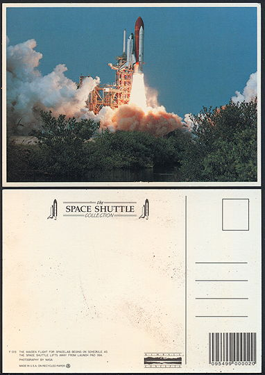 #MS287 - Postcard from the 1981 Maiden Voyage of Spacelab