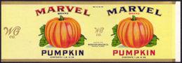 #ZLCA144 - Large Marvel Pumpkin Can Label