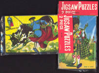 #TY529 - Two Made in Japan Puzzles in One Package - Matador and Scotsman