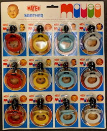 #SIGN216 - Large Mayee Soother Display Card with 12 Pacifiers