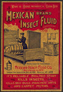 #ZBOT154 - Mexican Brand Insect Fluid Label