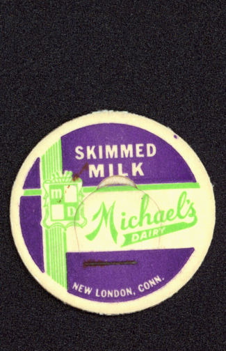 #DC116 - Michael's Dairy Skimmed Milk Bottle Cap