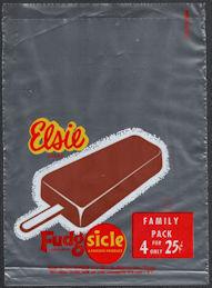 #PC110 - Group of 4 Elsie (Borden) Family Pack Fudgsicle Bags
