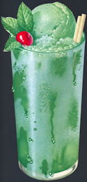 #SIGN182 - Large Mint Ice Cream Soda Sign - As low as 50¢ each