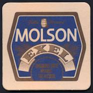 #SP055 - Molson Exel Beer Coaster - As low as 12¢ each