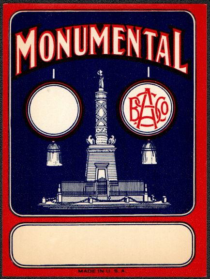 #ZLB050 - Monumental Broom Label