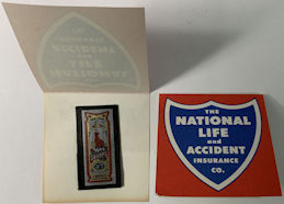 #MS335 - Group of 12 National Life and Accident Insurance Co. Needle Pack Giveaways - Japan